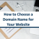 How To Choose The Perfect Domain Name For Your Business, Are Domain Name Extensions Important?